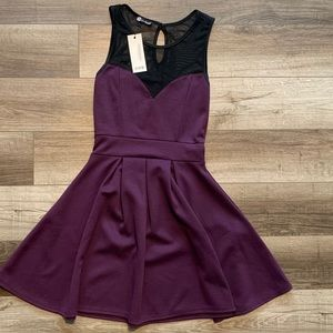 Fit and flare dress -NWT
